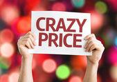 Crazy Price card — Stock Photo