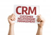 CRM Customer Relationship Management card — Stockfoto