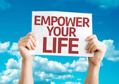 Empower your Life card — Stock Photo