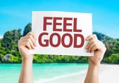 Feel Good card — Stock Photo