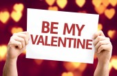 Be My Valentine card — ストック写真