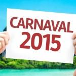 Carnival 2015 (in Portuguese) card — Stock Photo #63566561