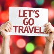 Lets Go Travel card — Stock Photo #63572685