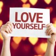 Love Yourself card — Stock Photo #63651187