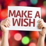 Make a Wish card — Stock Photo #63651237