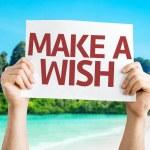 Make a Wish card — Stock Photo #63651261