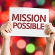 Mission Possible card — Stock Photo #63651657
