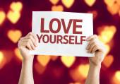 Love Yourself card — Stockfoto