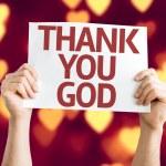 Thank You God card — Stock Photo #63660585