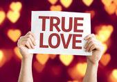 True Love card — Stock Photo