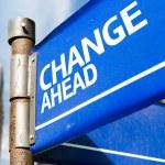 Change Ahead  sign — Stock Photo #63778195