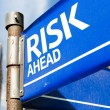 Risk Ahead sign — Stock Photo #63778353