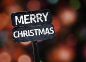 Merry Christmas sign — Stock Photo