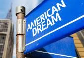 American Dream sign — Stock Photo