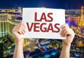 Las Vegas card — Stock Photo