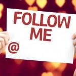 Follow Me card — Stock Photo #64861829