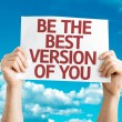 Be the Best Version of You card — Stock Photo #64865103