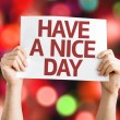 Have a Nice Day card — Stock Photo #64867237