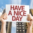 Have a Nice Day card — Stock Photo #64867315