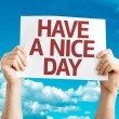Have a Nice Day card — Stock Photo #64867317