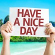 Have a Nice Day card — Stock Photo #64867351