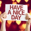Have a Nice Day card — Stock Photo #64867355
