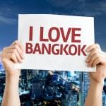 I Love Bangkok card — Stock Photo #64868005