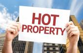 Hot Property card — Stock Photo