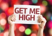 Get Me High card — Stock Photo