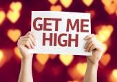 Get Me High card — Stock Photo