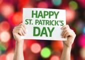 Happy St. Patricks Day card — Stock Photo