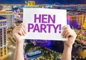 Hen Party! card — Stock Photo