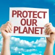 Protect Our Planet card — Stock Photo #64905365