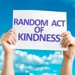 Random Act of Kindness card — Stock Photo #64905447