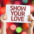 Show Your Love card — Stock Photo #64905651