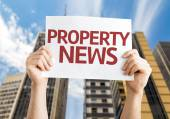 Property News card — Stock Photo