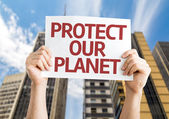 Protect Our Planet — Stock Photo