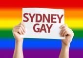 Sydney Gay card — Stock Photo