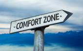 Comfort Zone sign — Stock Photo