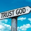 Trust God sign — Stock Photo #64914973
