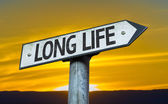 Long Life sign — Stock Photo