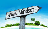 New Mindset sign — Stock Photo