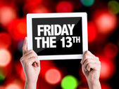 Text Friday The 13th — Foto de Stock