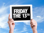 Text Friday The 13th — Stock Photo