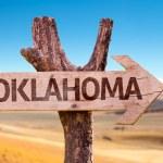 Oklahoma wooden sign — Stock Photo #67115617