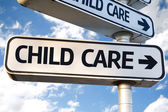 Child Care sign — Stock Photo