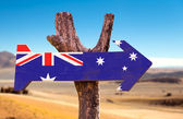 Australia Flag sign — Stock Photo