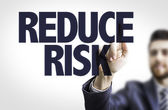 Text: Reduce Risk — Stock Photo