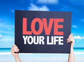 Love Your Life kort — Stockfoto