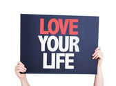 Love Your Life card — Stock Photo